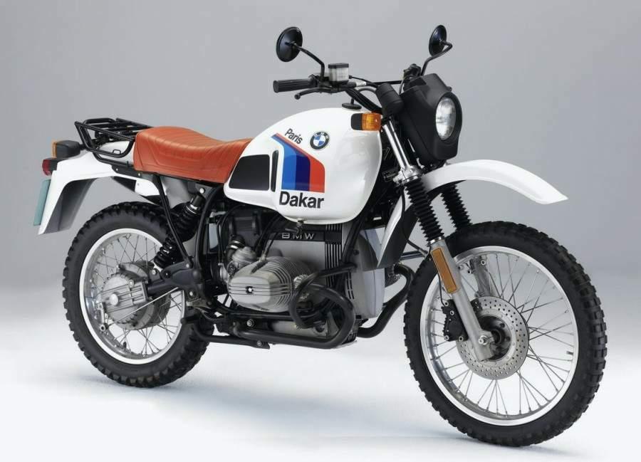 BMW R 80G/S Paris Dakar technical specifications